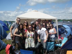 The mackems take on Glasto