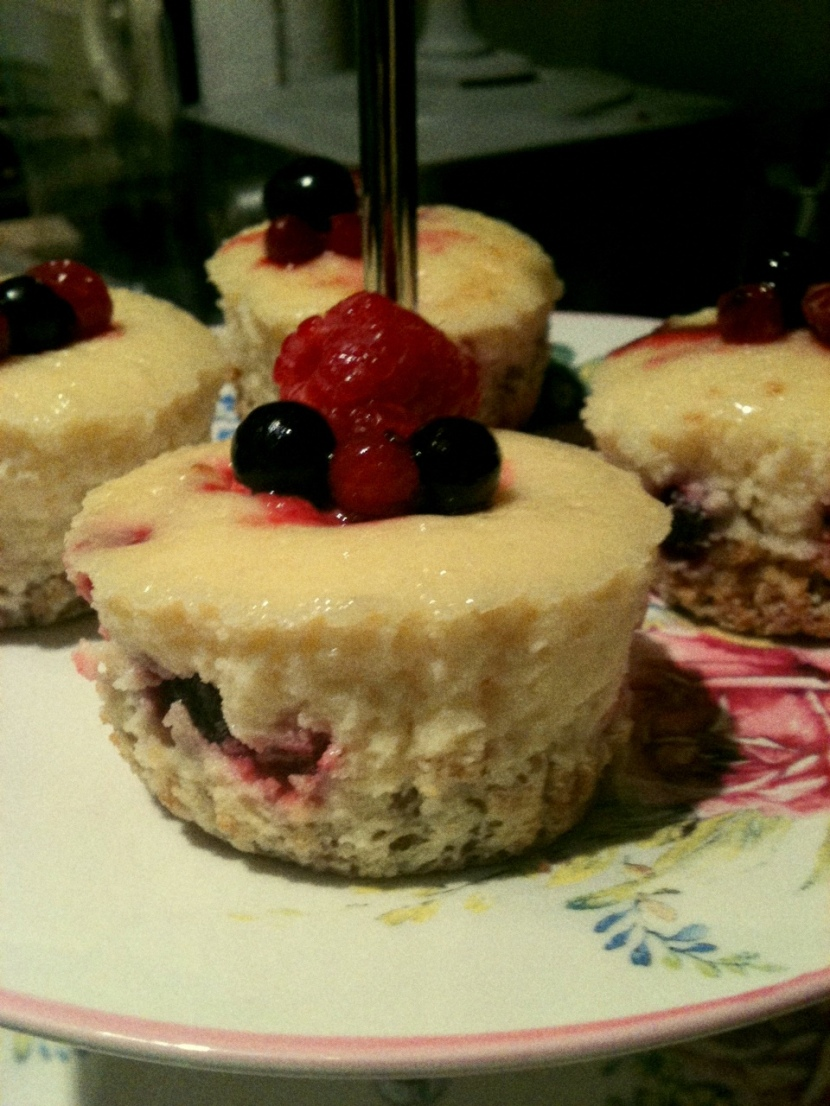 Pretty little cheesecakes