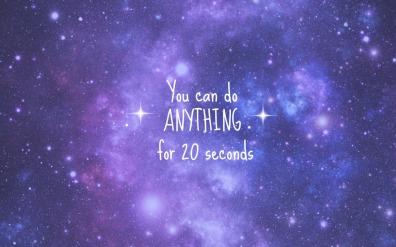 20 seconds