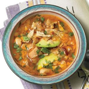 mexican lime chicken soup by Rachel Ray